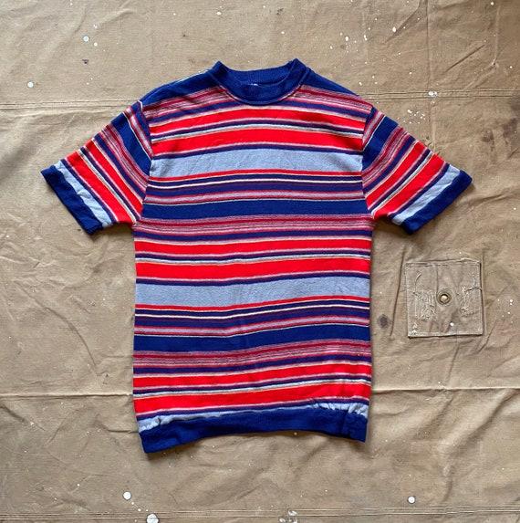 70s Stripe Sweatshirt short-sleeve