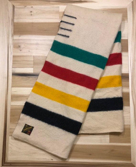 4 Point Wool Stripe Blanket