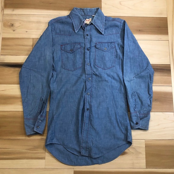 60s Wrangler Chambray Shirt