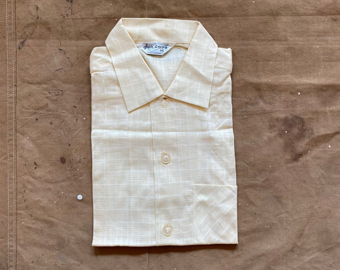 NOS 40s / 50s Loop collar Shirt