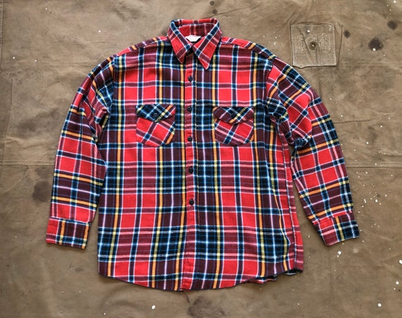Frost Proof 1960s Flannel Shirt
