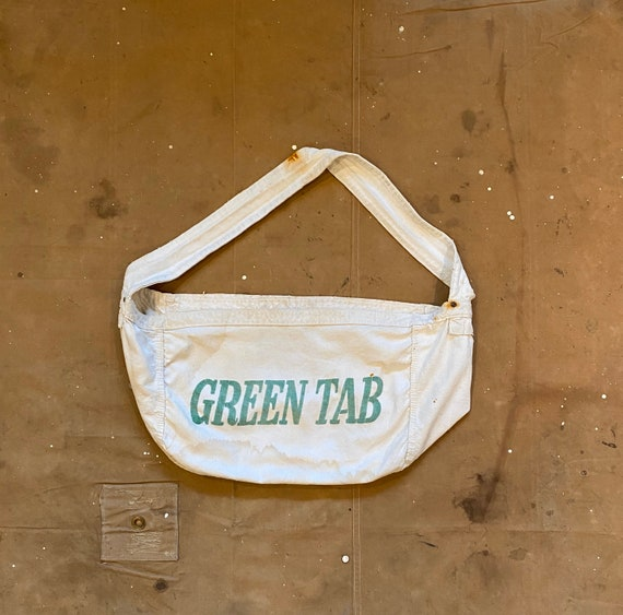 Green Tab Newspaper Bag