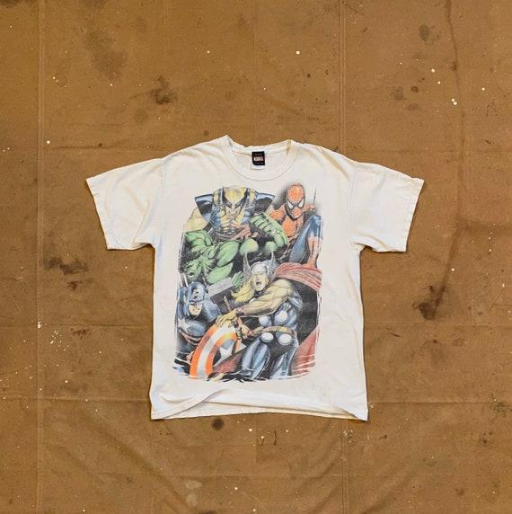Marvel Comics T Shirt Mad Engine