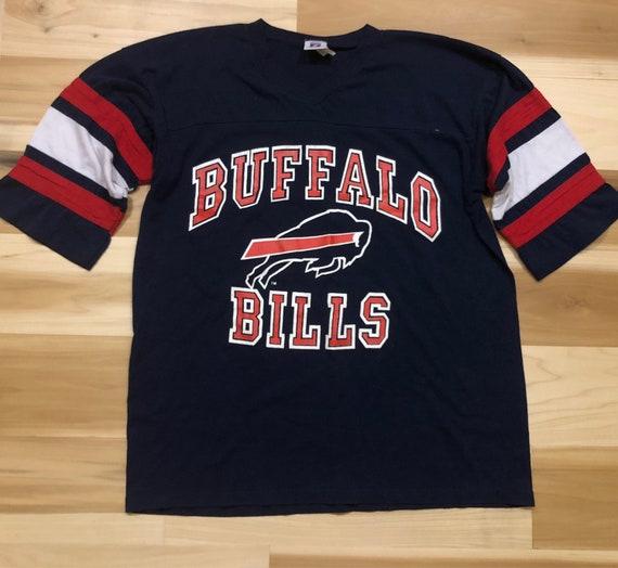 90s Buffalo Bills Jersey Shirt Logo 7 Crewneck  1128bcb97