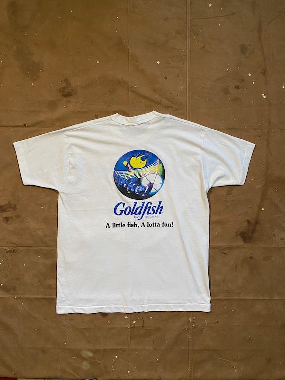 90s Goldfish T-Shirt Single Stitch XL