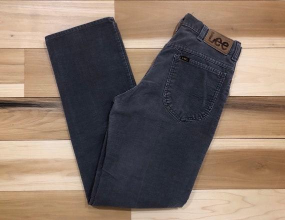 Lee Rider Corduroy Pants Straight Leg Made in USA