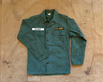 50s Sateen Jacket US Army Korean War