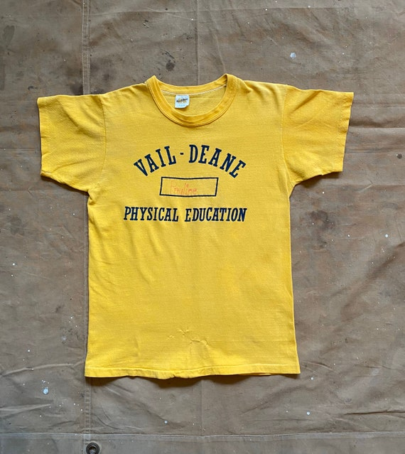 70s Russell Phys Ed T-Shirt - image 4