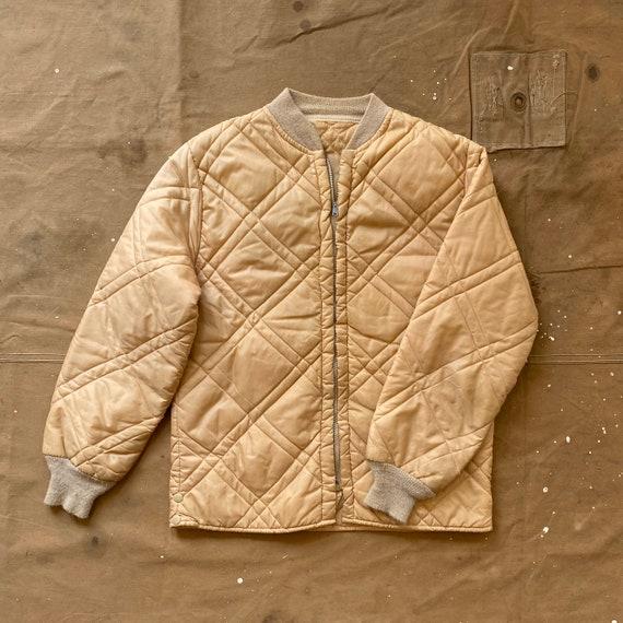 60s Quilted liner Jacket Beige