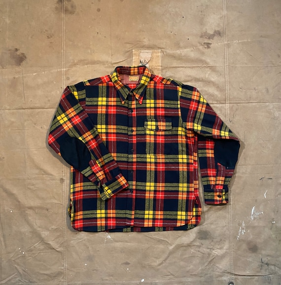 40s McGregor Sportswear Wool Shirt