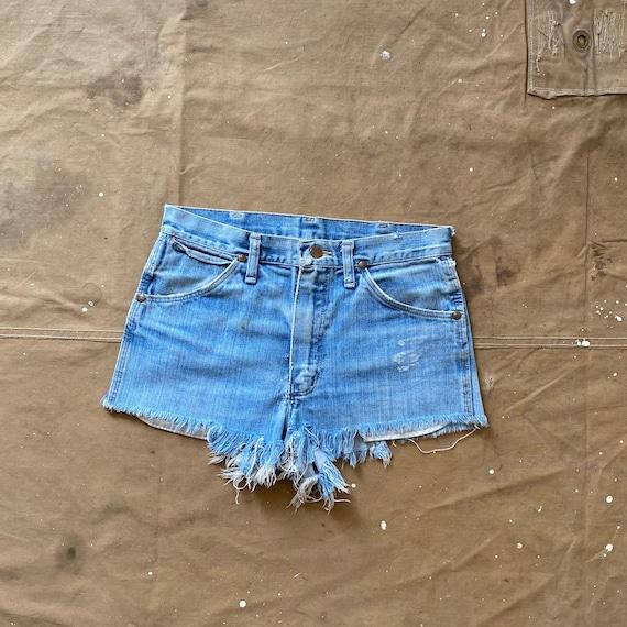 70s Wrangler Cut off Shorts 29 waist