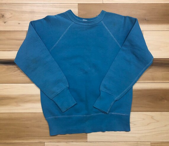 60s Fruit of Loom Crewneck Raglan Sweatshirt