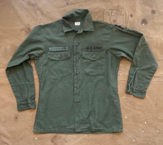 US Army OG 107 Shirt Vietnam