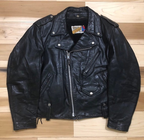 Sherpa Lined Schott NYC Perfecto Leather Motorcycl