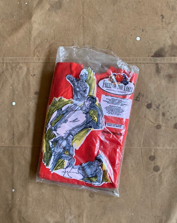 1970s Fruit of the Loom Sweatshirt Boys XL NOS*