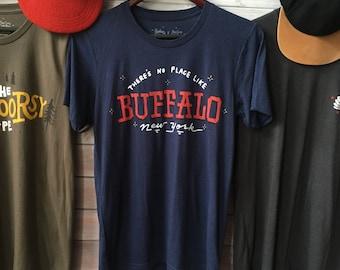 No Place Like Home Buffalo, NY T-Shirt