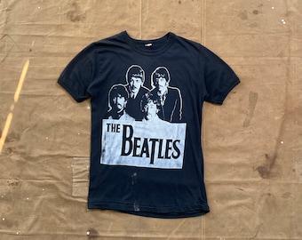 Paper thin '70s Beatles T-shirt