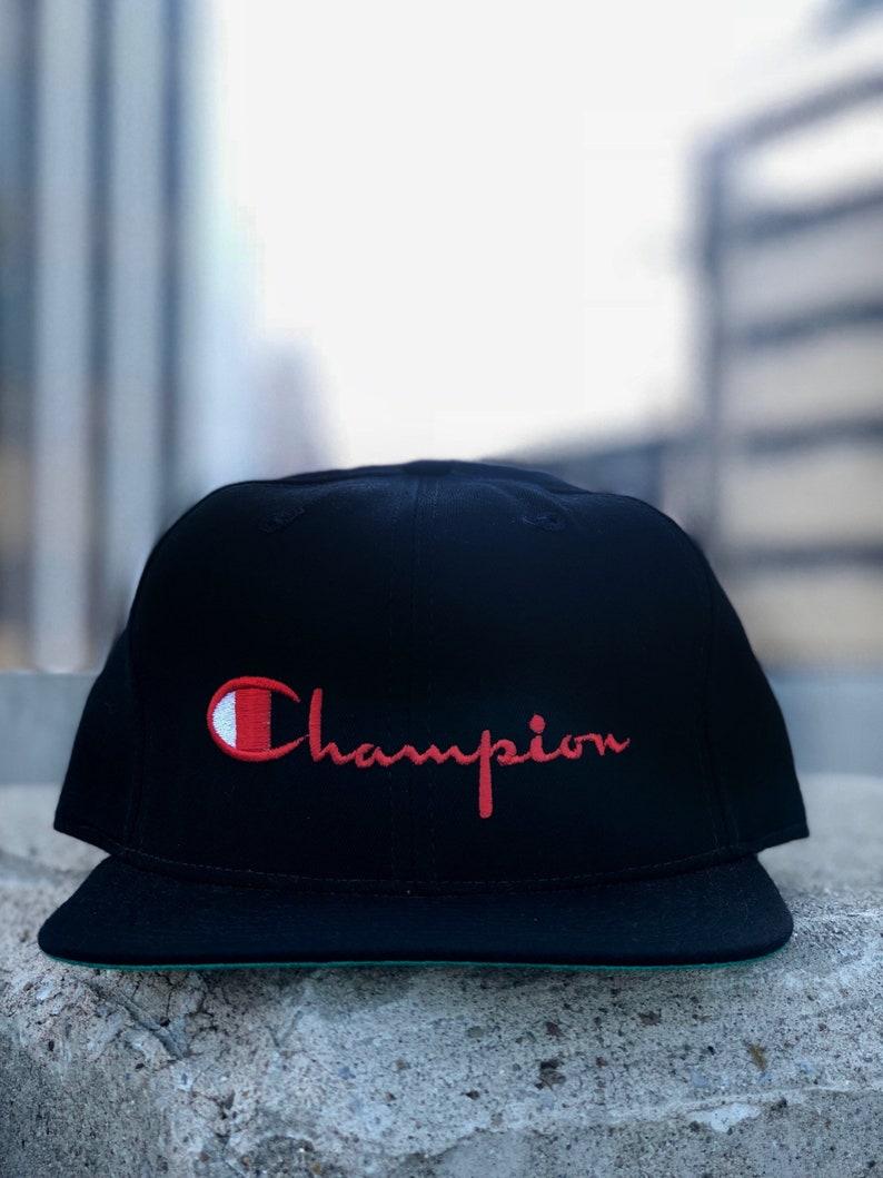 New Era Champion Snapback Script deadstock  87103ec99f4