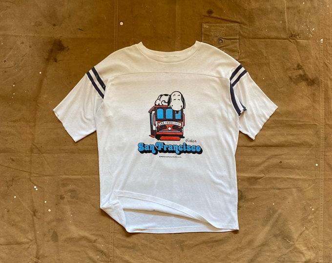 San Francisco '70s Snoopy T shirt