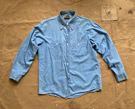 1970s Chambray Shirt Dee Cee Washington