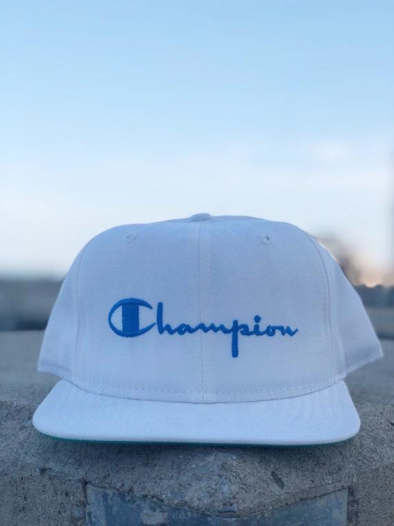 New Era Champion Snapback Script deadstock