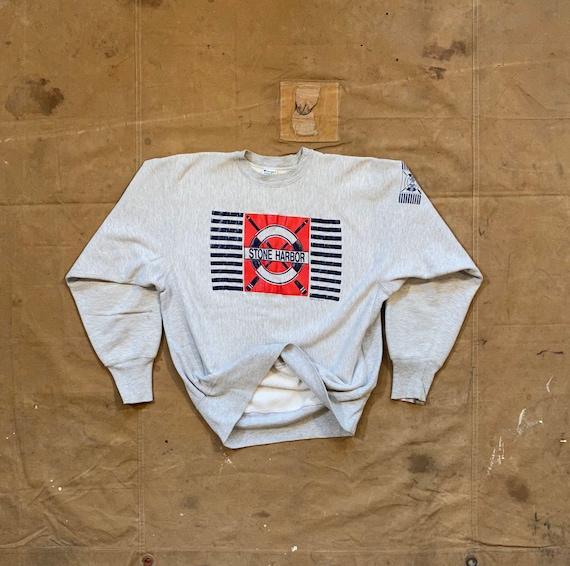 80s Reverse Weave Sweatshirt Champion Tri blend