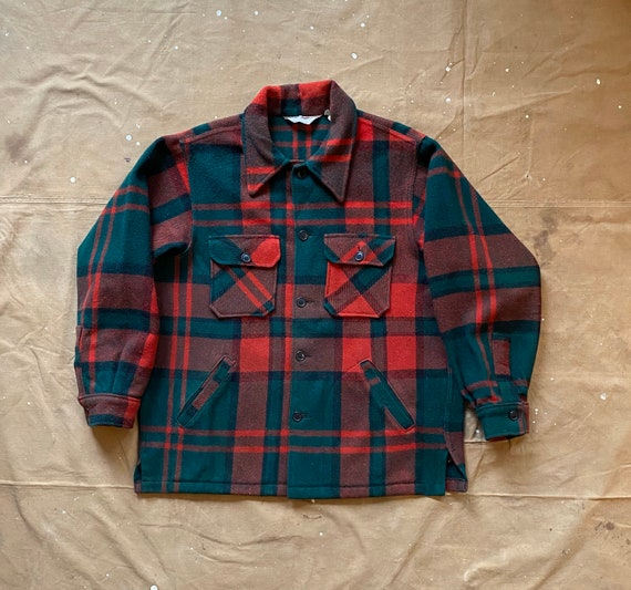 70s Woolrich Wool Shirt Jacket
