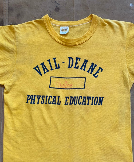 70s Russell Phys Ed T-Shirt - image 6