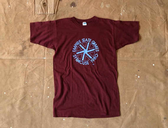 70s Empire State Games Champion tee 100 cotton