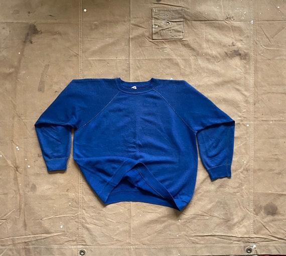 70 Sweatshirt Raglan Cotton