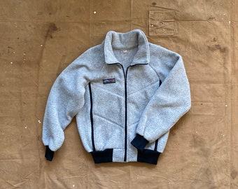 70s Fleece Denali Jacket Double face Talon Zip USA