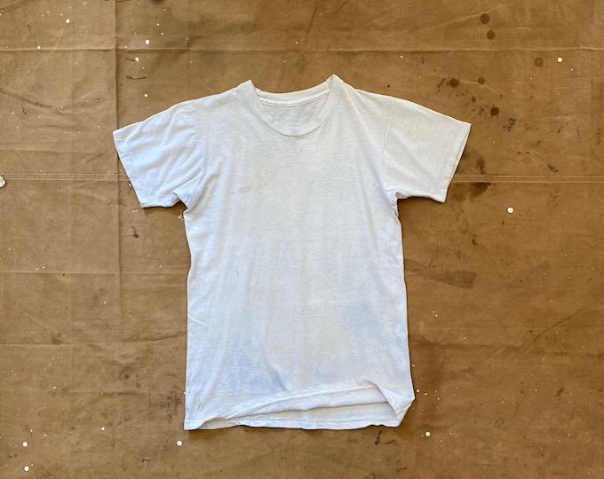 Paper thin White T-shirt