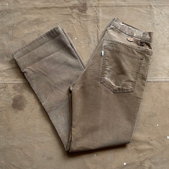 1970s Levi's 519 Corduroy Pants Straight Leg
