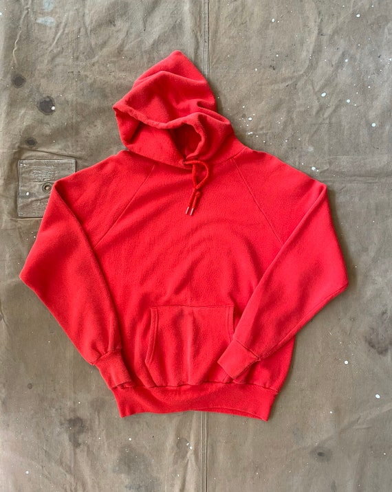 80s Hoodie Raglan Sweatshirt