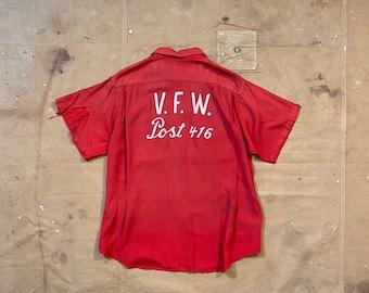 40s Bowling Shirt VFW Post Buffalo NY