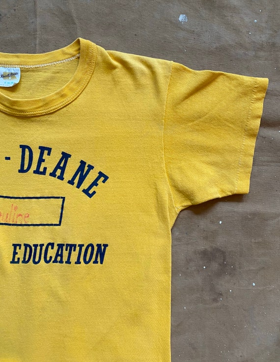 70s Russell Phys Ed T-Shirt - image 8