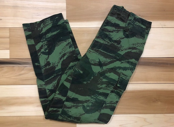 HBT Lizard Camouflage Pants Military Trousers 29 waist
