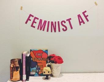 Feminist AF - Banner