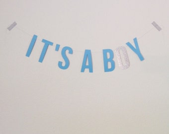 IT'S A BOY Garland