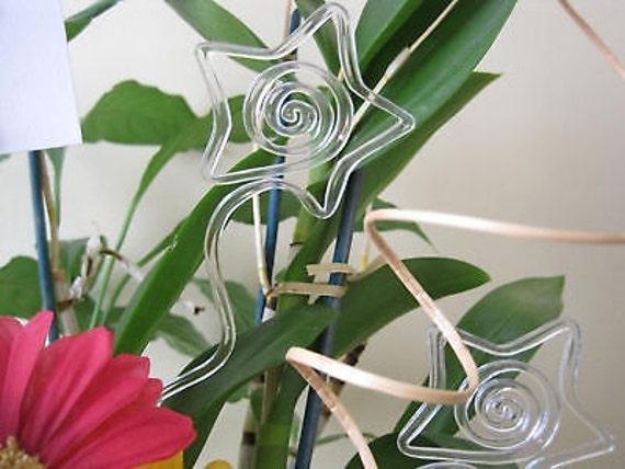 "Floral Picks CHRISTMAS TREE 12/"" Card Holders Pk//25 NEW!"