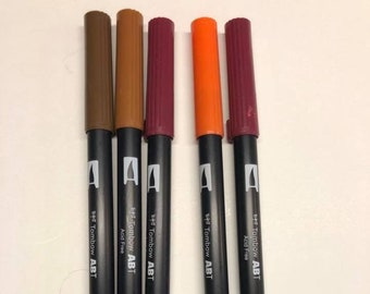 Tombow Markers Etsy - Tombow abt markers