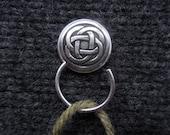 Celtic Knot Knitting Pin, Portuguese Knitting Pin, Magnetic Knitting Pin, Knitting Hook, Handmade Knitting Pin