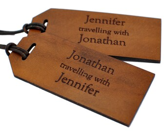 Personalized Traveling With Luggage Tags, Couple Anniversary Tags, Travel Anniversary Gift, Couple Honeymoon Tags, Couple Honeymoon Gift
