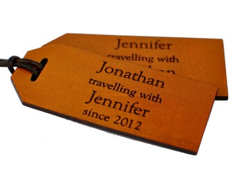 3rd Anniversary Leather Luggage Tags Traveling With, 3rd Anniversary Gift Leather, 3rd Anniversary Gift Luggage Tags, Leather Anniversary
