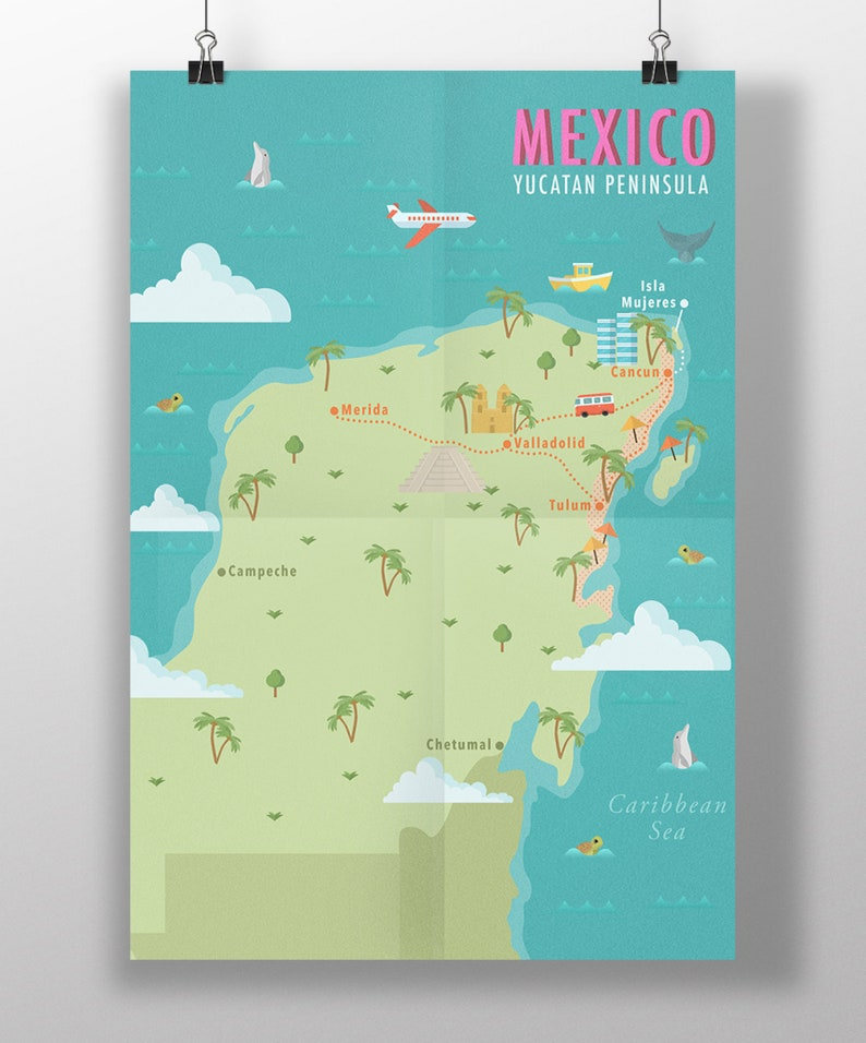 Mexico Yucatan Peninsula Map Printable Wall Art, Decor, Country Map on aleutian islands world map, korean peninsula world map, arabian peninsula on world map, rio grande world map, tulum world map, iberian peninsula on world map, baja california world map, tennessee river world map, horn of africa on world map, sierra madre occidental world map, chiapas world map, asia world map, oaxaca world map, mazatlan world map, irish sea world map, pacific coast world map, cuba world map, central mexico world map, balkan peninsula world map, ionian sea world map,