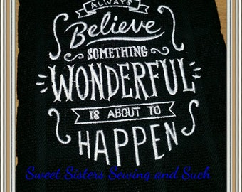 Sayings Bar Towel