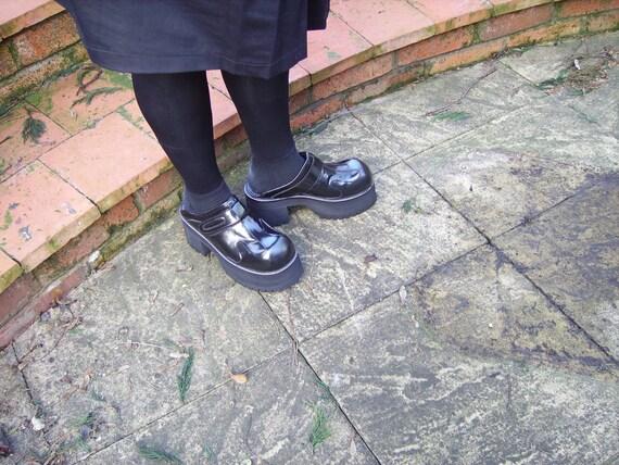Black Leather clogs