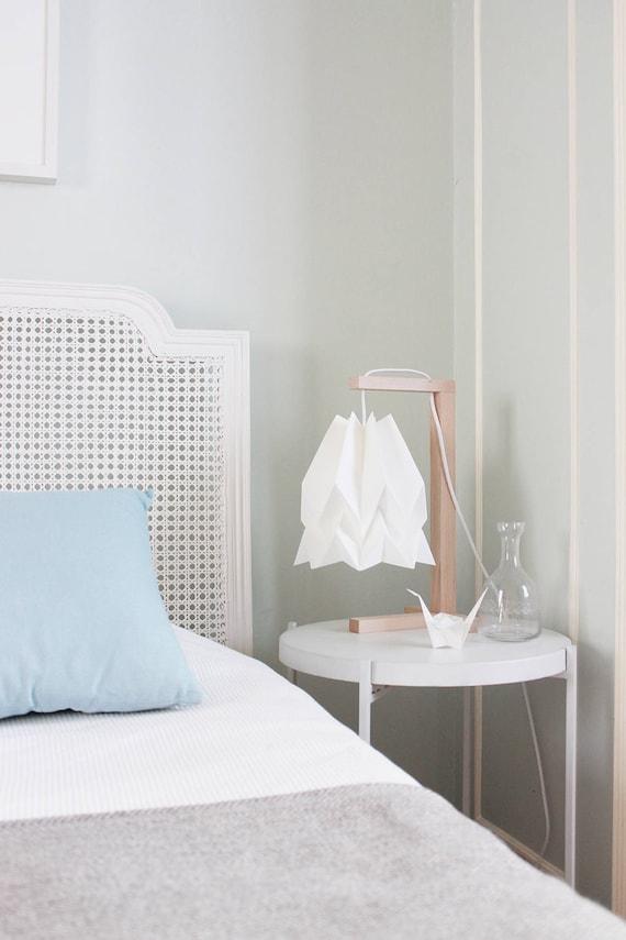 Uberlegen Lampenschirm Tischleuchte Papier Lampe Für Schlafzimmer | Etsy