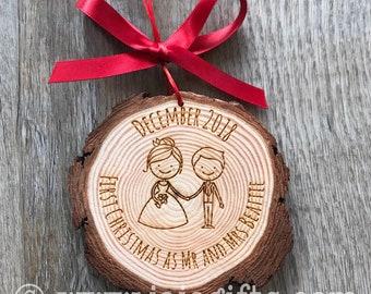 MDF Noël//Anniversaire//Mariage Nom de lieu Personnalisé Gratuite
