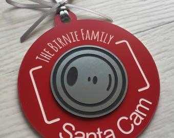 Camera to help behaviour at Christmas personalised santa elf surveillance